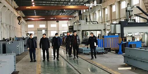 东gang镇领daoyixing莅临ag8网址企业jian查安quan生产活动