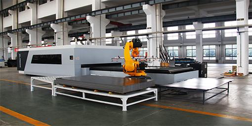 钢结构生产线设备机器人ying用的ji术有na些?