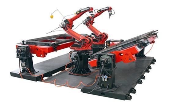 人防门机器人焊接工作站